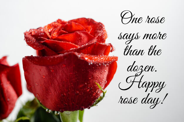 Unique happy rose day wishes 2021